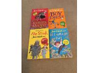 David Walliams set of 4 children's books