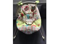 Fisher Price Woodland Friends Calming Vibrations bouncy chair
