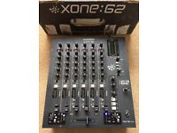 Allen & Heath Xone 62 Mixer With Original Box