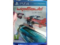 Wipeout like new condition Ps4