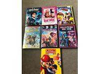 7 x kids DVDs