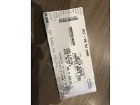 2x Justin Bieber Tickets 27th October