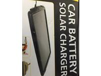 Aa car battery solar charger