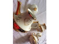 50th Anniversary Tea Pot Set immaculate
