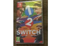 1 2 Switch game Brand New Factory Sealed