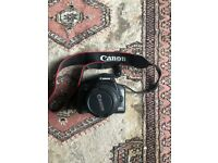 CANON Digital Camera EOS 1000D with lens and case and 8GB MEMORY CARD