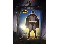 Fancy Dress Batman Costume M/L