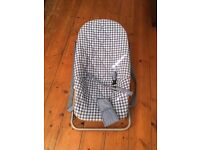 Mamas & Papas Baby bouncer chair newborn to 6 months. Good condition from pet free smoke free home.