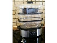 Large 3 Tier Food Steamer