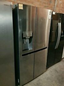 Ex Display LG Stainless Steel A+++Frost Free American F-F With Ice Maker And Water Dispense