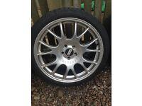 "19"" bbs Motorsport alloy wheel"