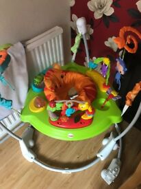 Fisher Price roarin' jungle jumperoo