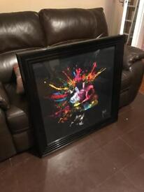 Framed New Future by Patrice Murciano