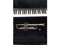Prelude by Bach Trumpet with case