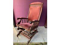 Edwardian rocking chair