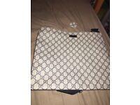 Men's Gucci messenger bag