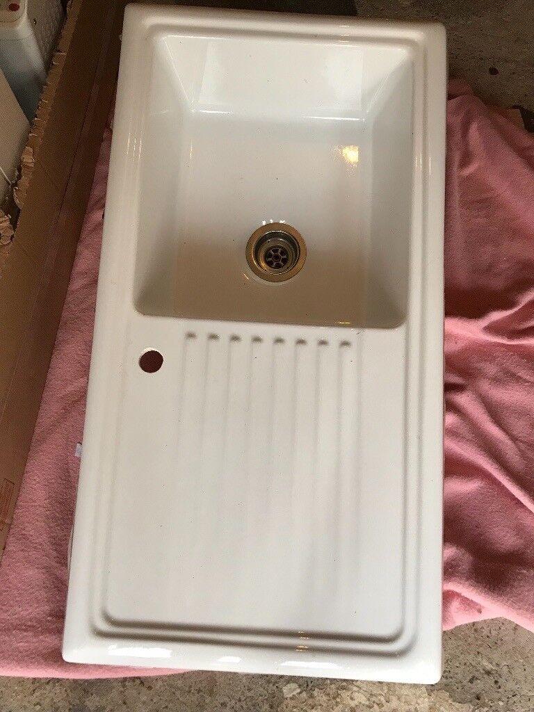 Ceramic Sink with drainer