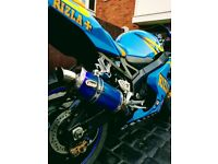GSXR 600 K4 Rizla edition. (Rare Bike)