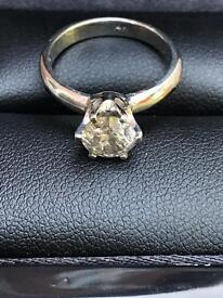 1.06ct Diamond Solitaire Ring