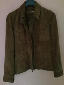 Ladies Timberland suede jacket size small