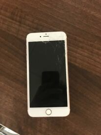 iPhone 6s Plus smashed screen needs a new one