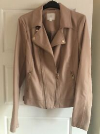 Womens Marks and Spencer Leather Jacket size 12 New