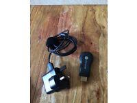 Google Chromecast HDMI Streaming Media Player H2G2-2A for SALE