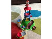 Paw Patrol Weebles pull and play set
