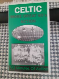 VHS Tapes - Signed Wee Willie - The Willie Henderson Story & Celtic - More Great 60s Action.