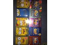 Simpsons dvds series 1-10