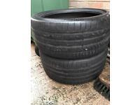 2 x ContiSportContact 5P - 255/35/19 Tyres