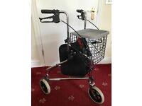3-wheel mobility walker