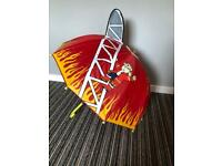 Kids Fireman brolly in excellent condition