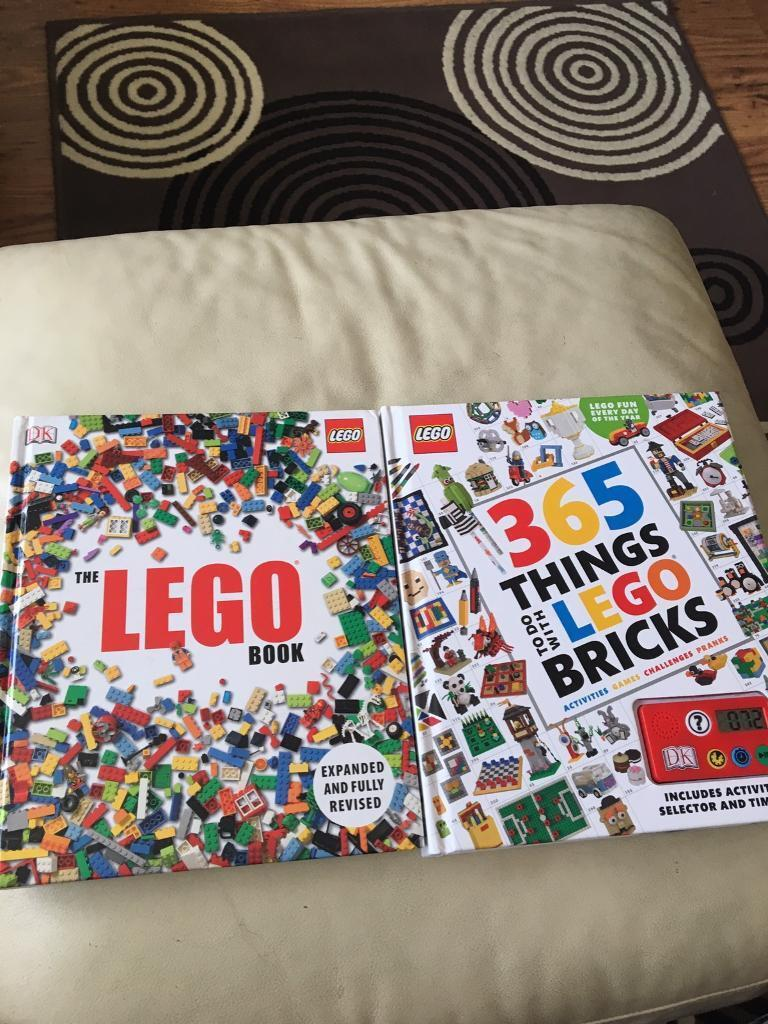 2 hard backed Lego books. Great condition