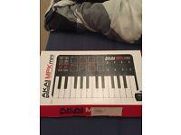 Akai MPK Mini Portable Laptop production keyboard MIDI controller boxed (open to offers)