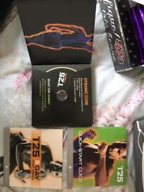 Workout DVD set