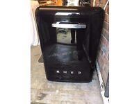 Smeg Retro Black Dishwasher