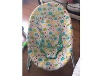 Baby bouncer perfect working condition