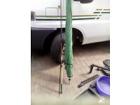 as new fishing umbrella and fit 10 foot feeder rod