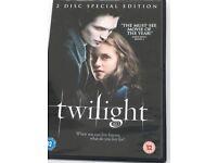 Twilight Eclipse dvd set vgc & like new