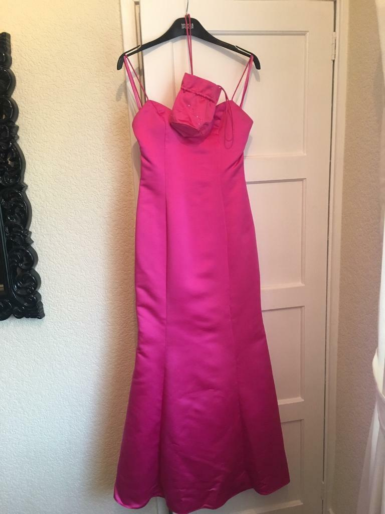 prom / wedding / bridesmaid dress. Pink. Size 10