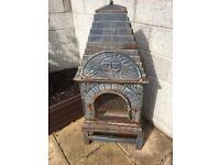 Castnaster chimnea/Pizza oven