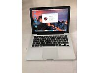 Apple MacBook Pro 13 inch mid 2012, 2.9ghz i7, 8GB ram in good condition