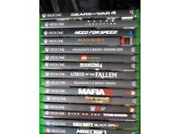 xbox one games various titles and prices