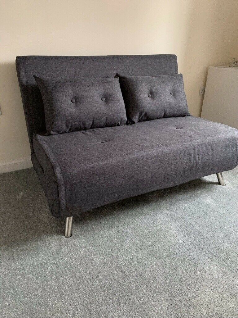 Small Double Sofa Bed In Cygnet Grey