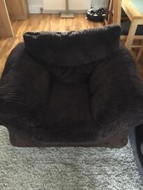 Brown DFS chair