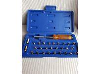Multi-functional screwdriver kit 28 piece BNIB