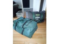 Two tents plus camping gear for sale. Everything you need to go camping.