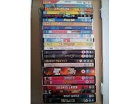 x25 DVDs