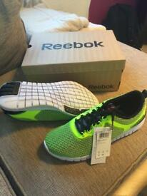 Brand new full flex reebok trainers UK9.5